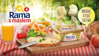 relaunch campaign - rama with butter