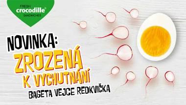 Launch novinky Vejce-ředkvička
