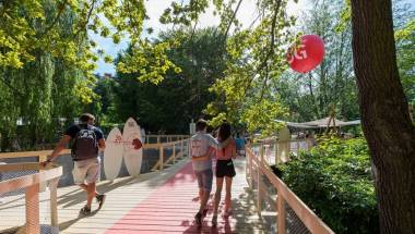 Vodafone pláž na KVIFF 2019
